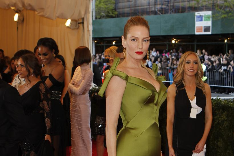 Uma Thurman at the 2013 Met Gala