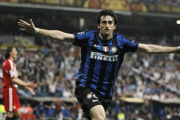 Arsenal Transfer Rumours: Veteran Striker Diego Milito Would Be The Perfect Addition For The Gunners