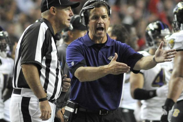 Baltimore Ravens News: John Harbaugh Needs To Act Like A Head Coach
