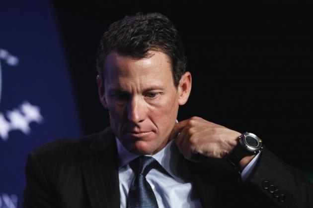 Sports Buzz: Lance Armstrong's Image Set In Stone