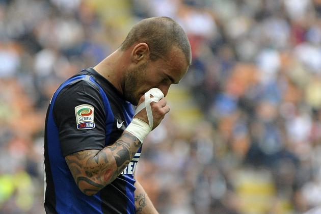 Wesley Sneijder Transfer Rumors And Speculation: Will Serie A Midfielder Man. U, Man. City, Chelsea or Tottenham?