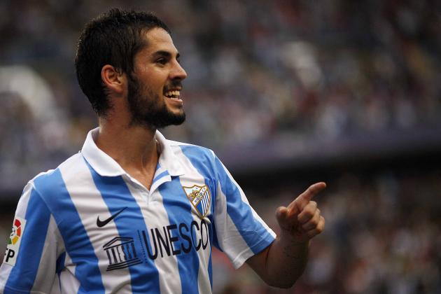 Premier League Transfer Rumors: Manchester City, Manchester United and Tottenham Pursuing Playmaker Isco