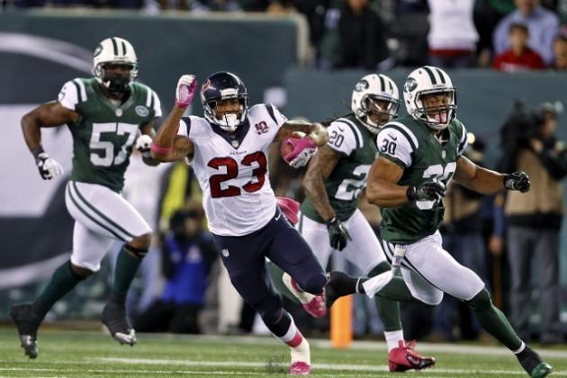 Houston Texans vs. New England Patriots Matchups: Arian Foster, Andre Johnson Texans Offense vs. Patriots Defense