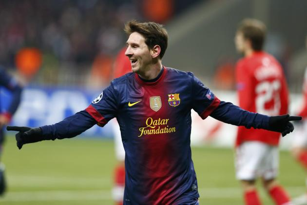 Messi Ties Up Barca Contract Till 2018.