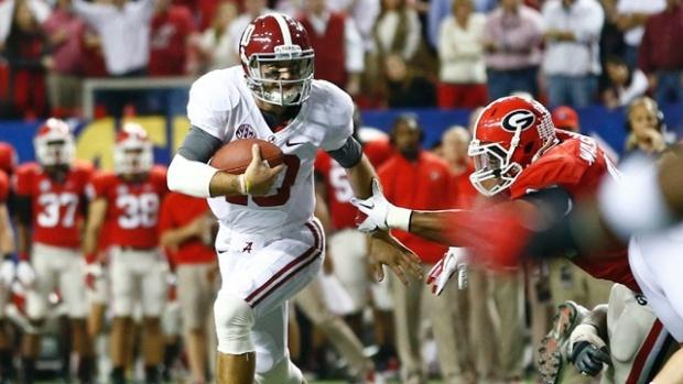 Alabama Crimson Tide Survive Mark Richt's Bulldogs To Secure Date With Notre Dame Fighting Irish