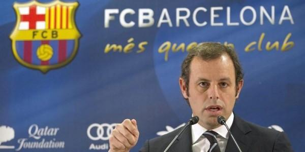 Barcelona's President Sandro Rosell Ruled Out David Villa Loan to EPL