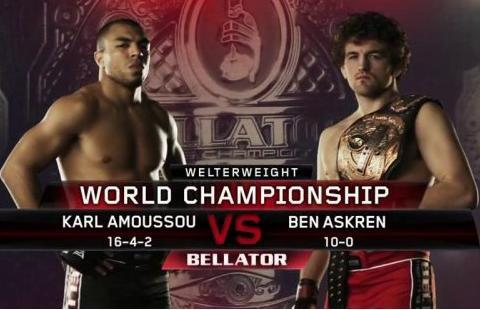 Bellator 86: Karl Amoussou Interview
