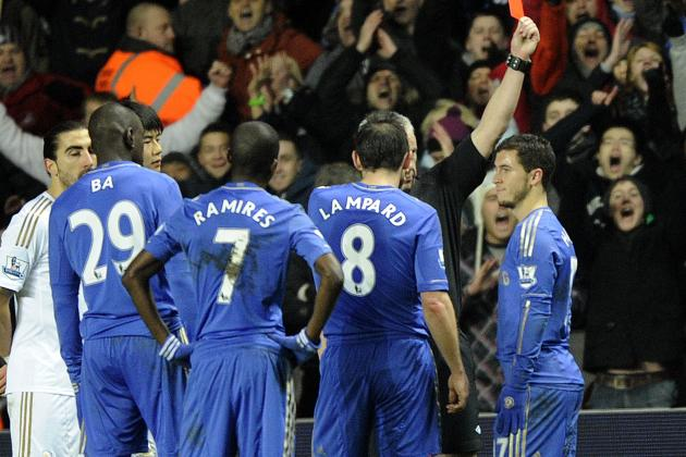 Chelsea FC News: Why Eden Hazard's Red Card Is So Wrong