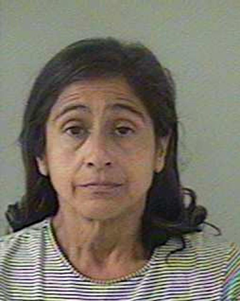 Booking mug shot of Nancy Garrido, accused in the kidnapping of Jaycee Dugard in California