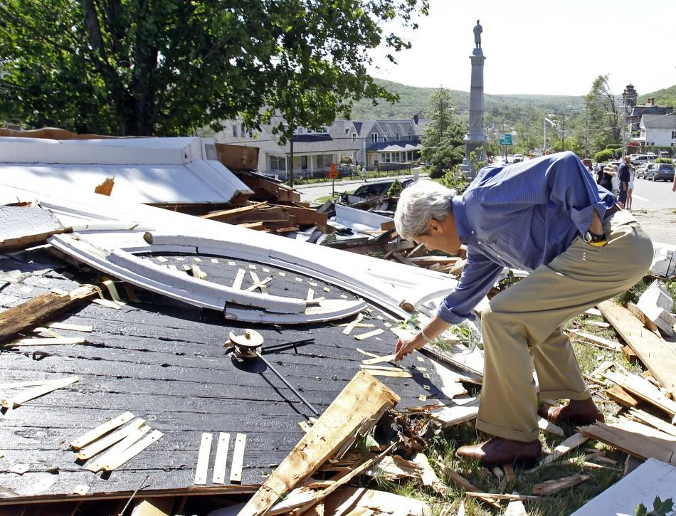 Aftermath Photos of Tornado Havoc in Massachusetts