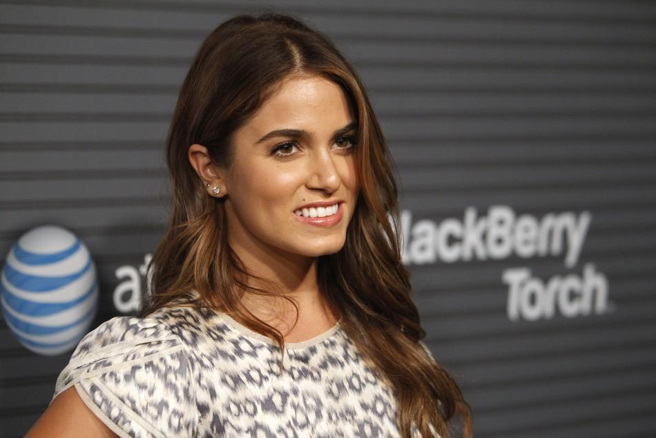 Actress Nikki Reed poses at the party for the launch of the Blackberry Torch in Los Angeles August 11, 2010.