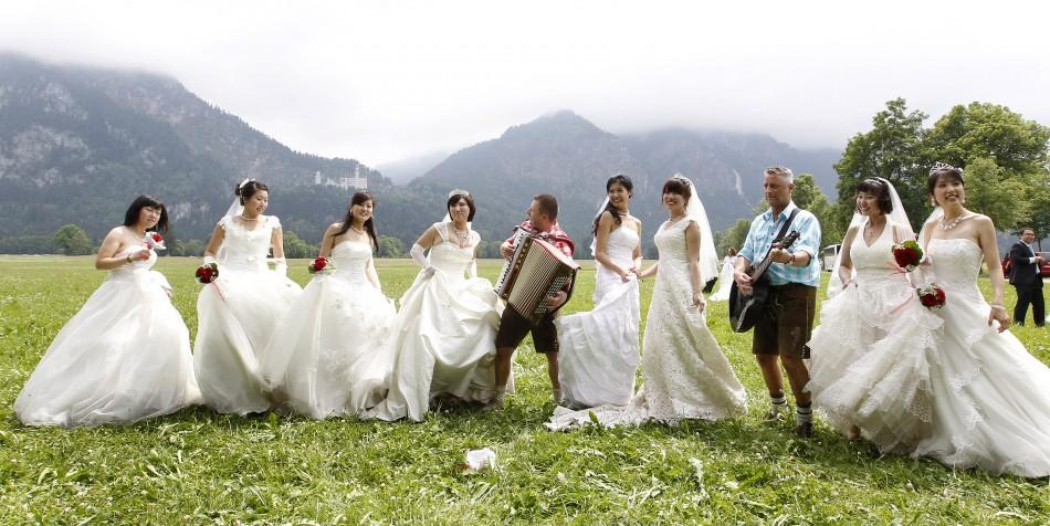 Chinese Newlyweds in Germany (2 of 5)