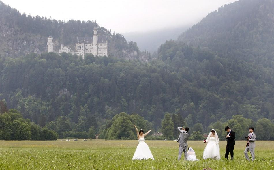 Chinese Newlyweds in Germany (3 of 5)