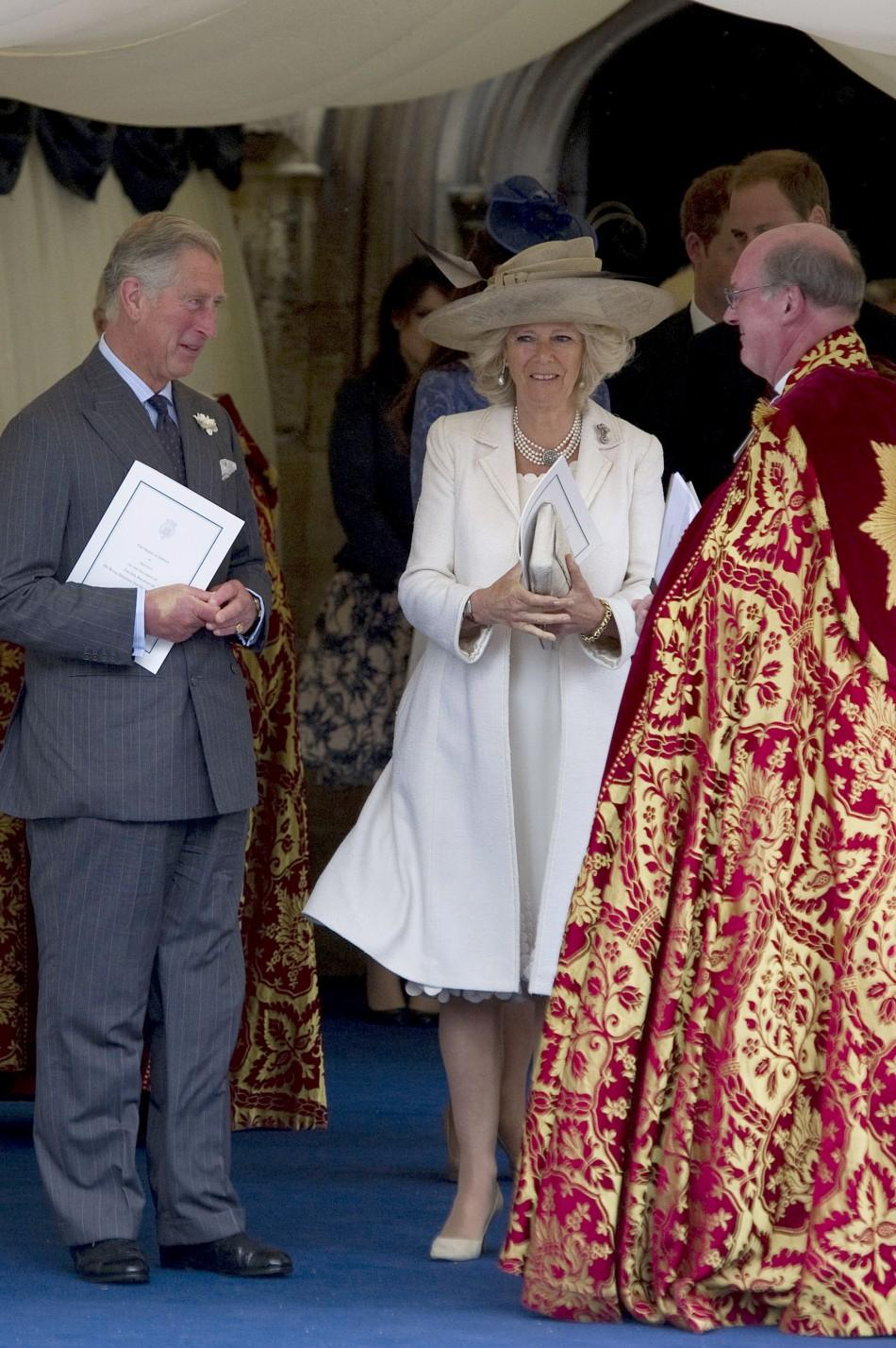 Kate Middleton attends Prince Philip's 90th birthday in recycled coat.