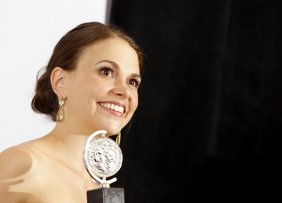 Best Performance by an Actress in a Leading Role in a Musical - Sutton Foster (Anything Goes)