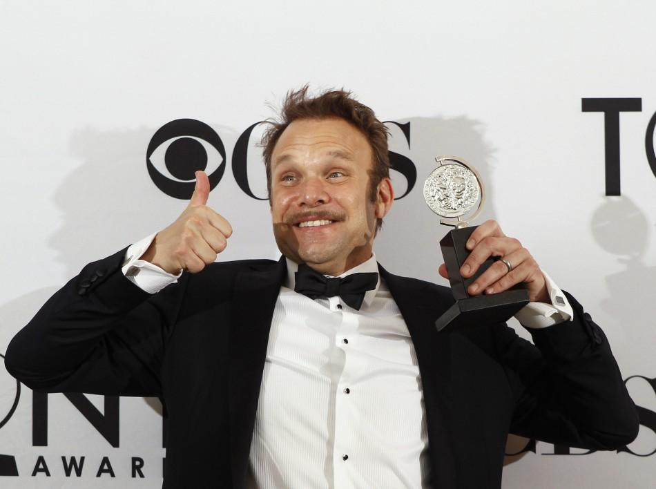 Best Performance by an Actor in a Leading Role in a Musical -Norbert Leo Butz (Catch Me If You Can)