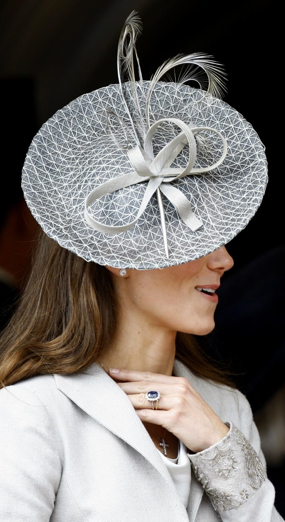 Kate Middleton in signature style at 'Order of the Garter' service.