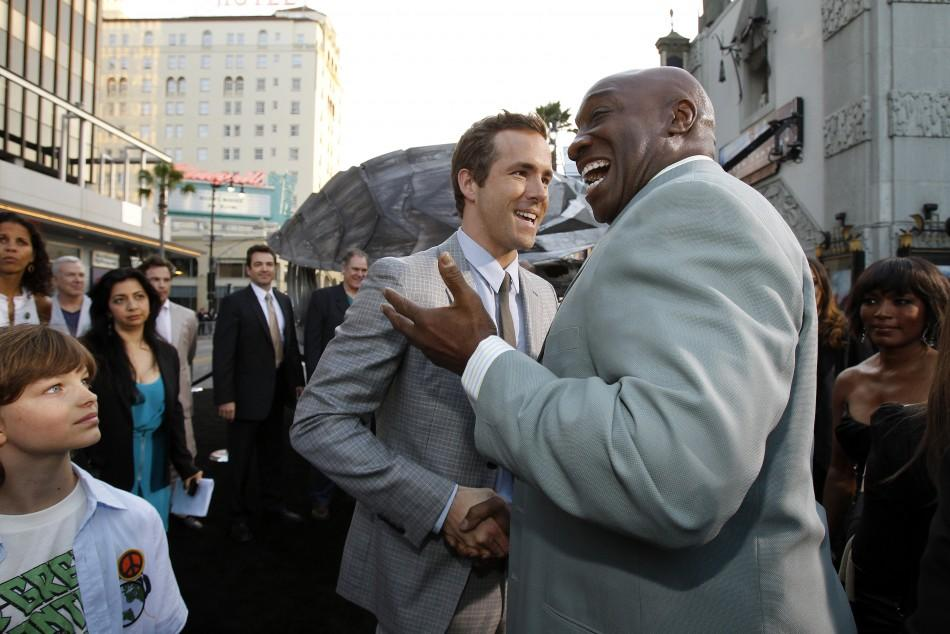 """Premiere of """"Green Lantern"""" at the Grauman's Chinese theatre in Hollywood"""
