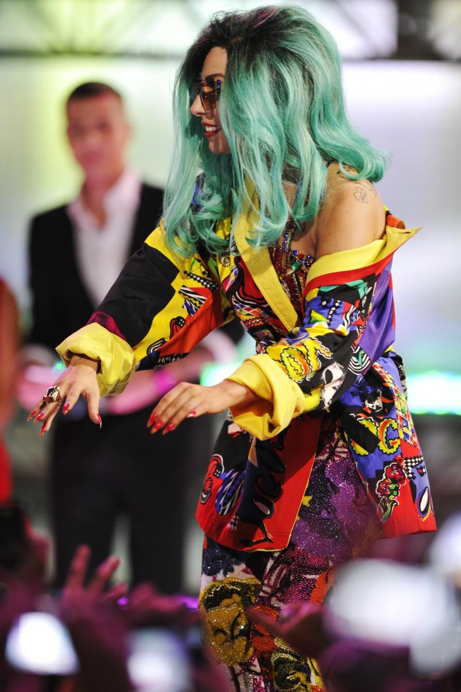 Lady Gaga at the MuchMusic Awards in Toronton, 2011