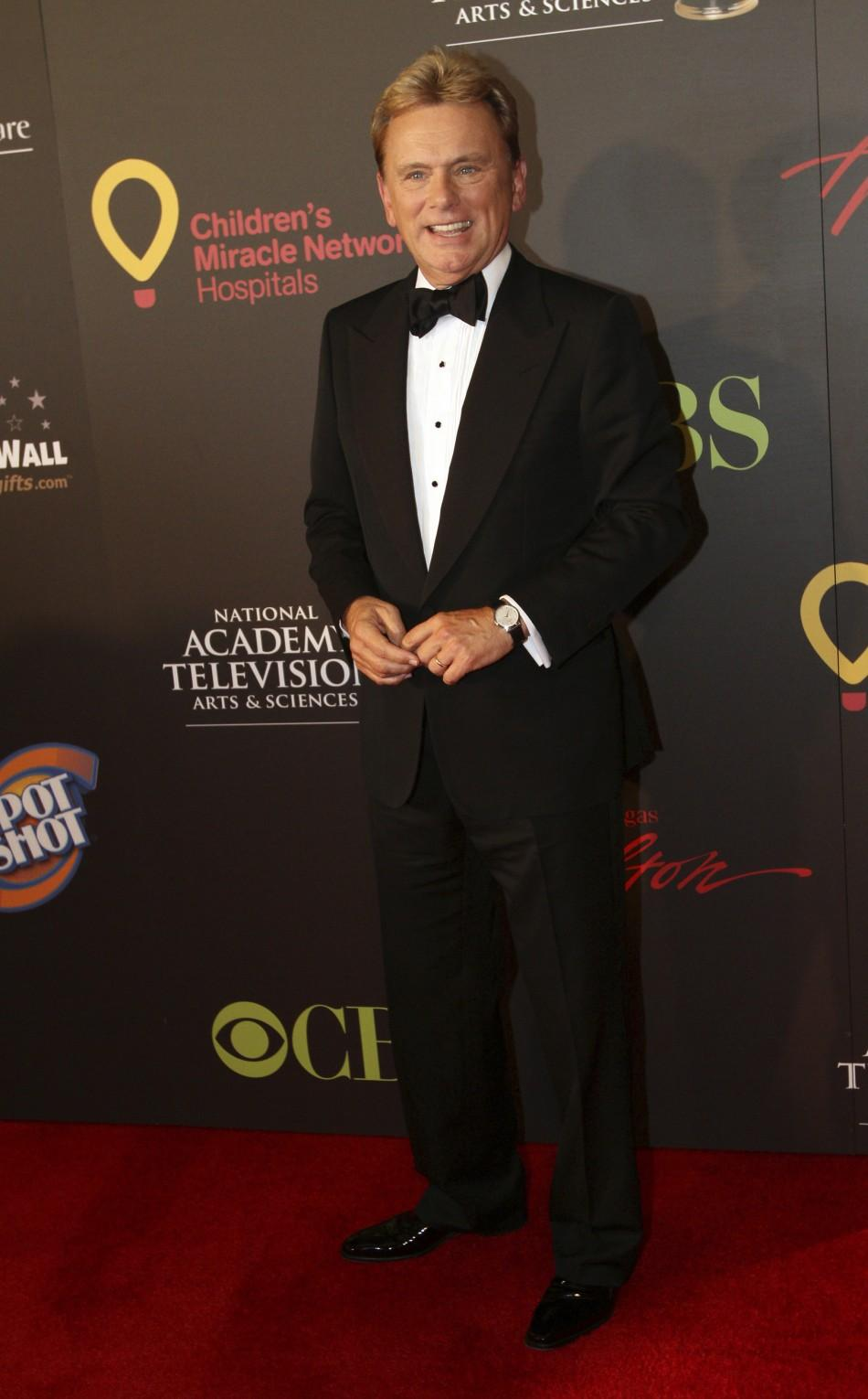 Pat Sajak arrives at the 38th Annual Daytime Entertainment Emmy Awards at the Las Vegas Hilton in Las Vegas