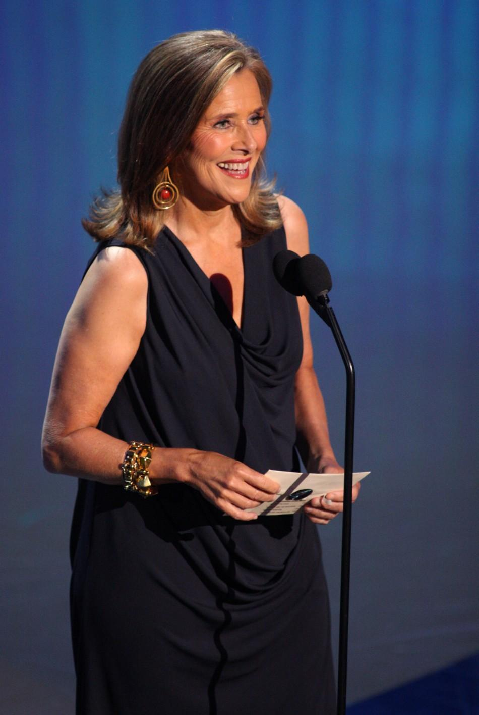 TV personality Meredith Vieira speaks onstage during the 38th Annual Daytime Entertainment Emmy Awards at the Las Vegas Hilton in Las Vegas