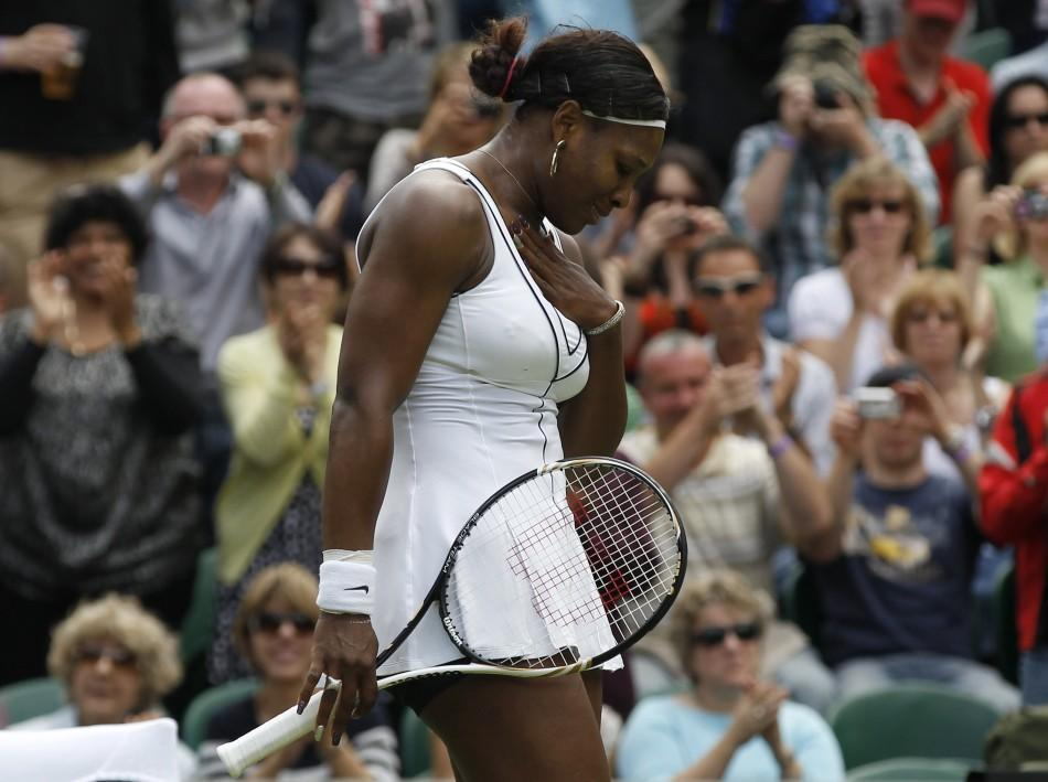 Serena Williams Wimbledon 2011
