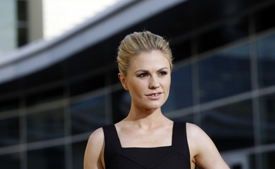 """Cast member Anna Paquin poses at the premiere for the fourth season of the HBO television series """"True Blood"""" at the Cinerama Dome in Hollywood, California June 21, 2011."""