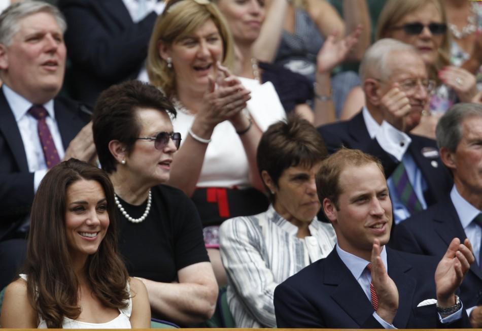 Britain's Prince William and His Wife, Catherine, Dutchess of Cambridge