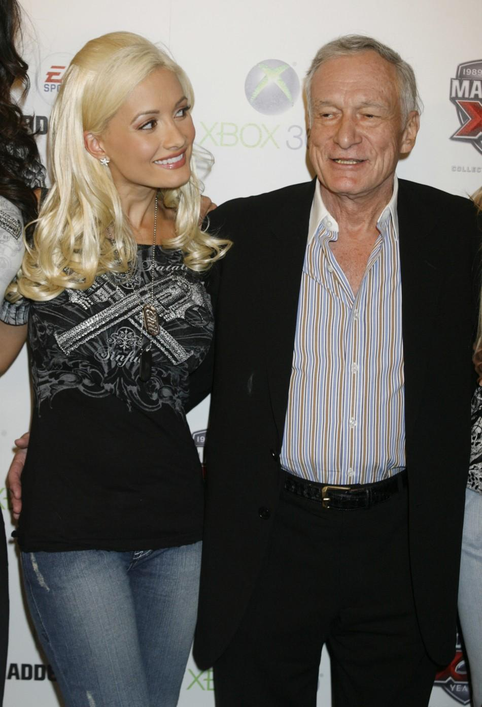 'Playboy' Hugh Hefner and his many 'playmate' girlfriends