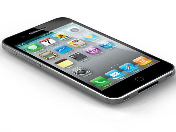 Apple's iPhone 4 is displayed