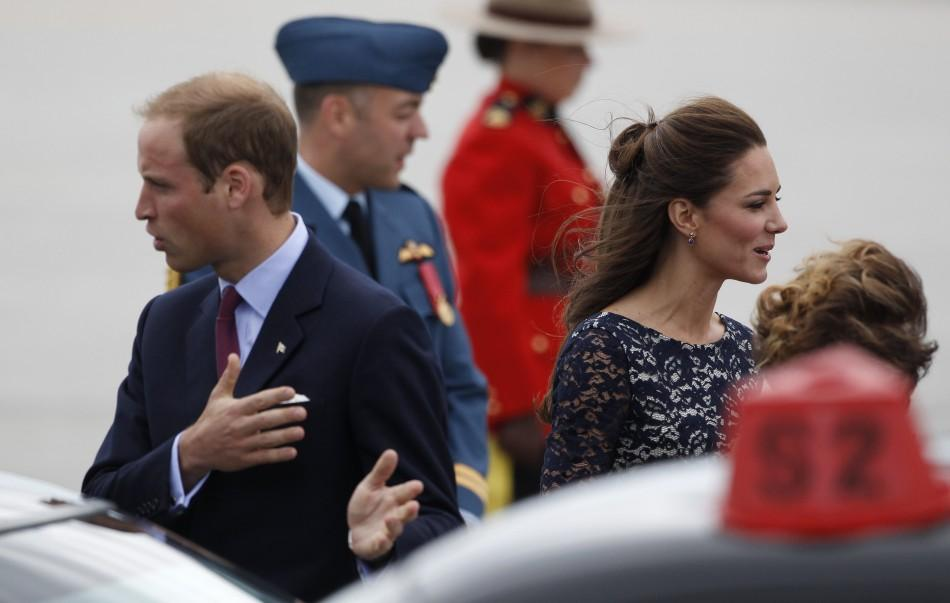 Will and Kate Canada