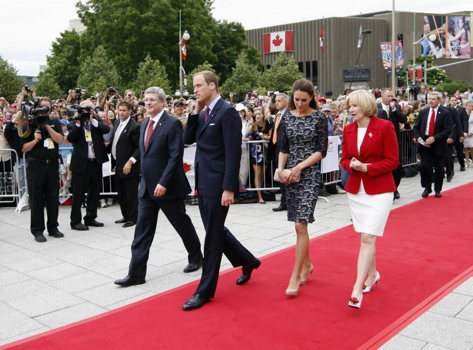 Will and Kate Canada 2