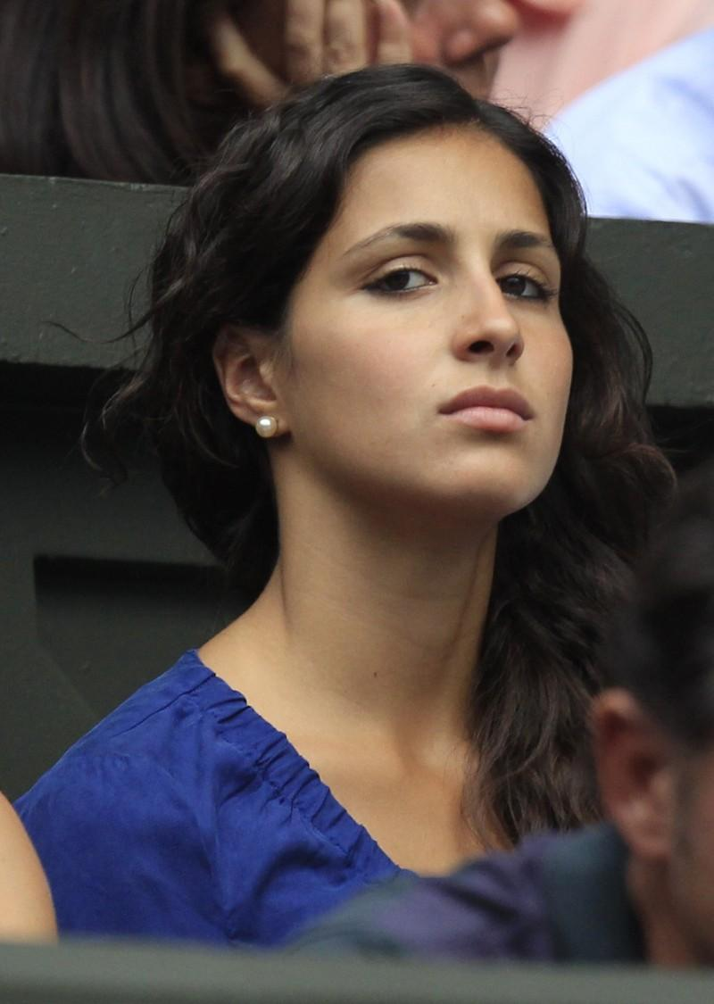 Maria Francisca Perello, the girlfriend of Rafael Nadal of Spain