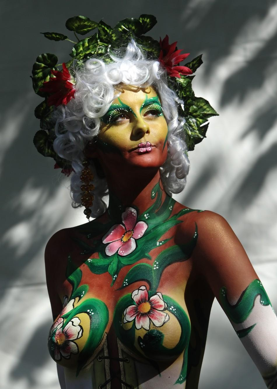 Wild photos from bodypainting festival 2011 World Bodypainting Festival: The Wild Photos