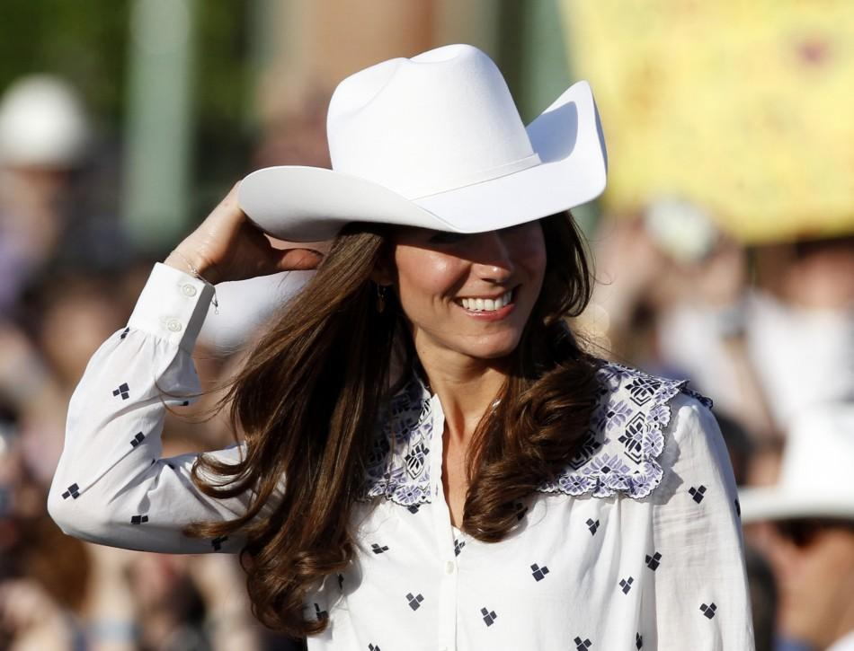 Atta Cowgirl! Kate Middleton embraces rodeo fashion at the Calgary Stampede.