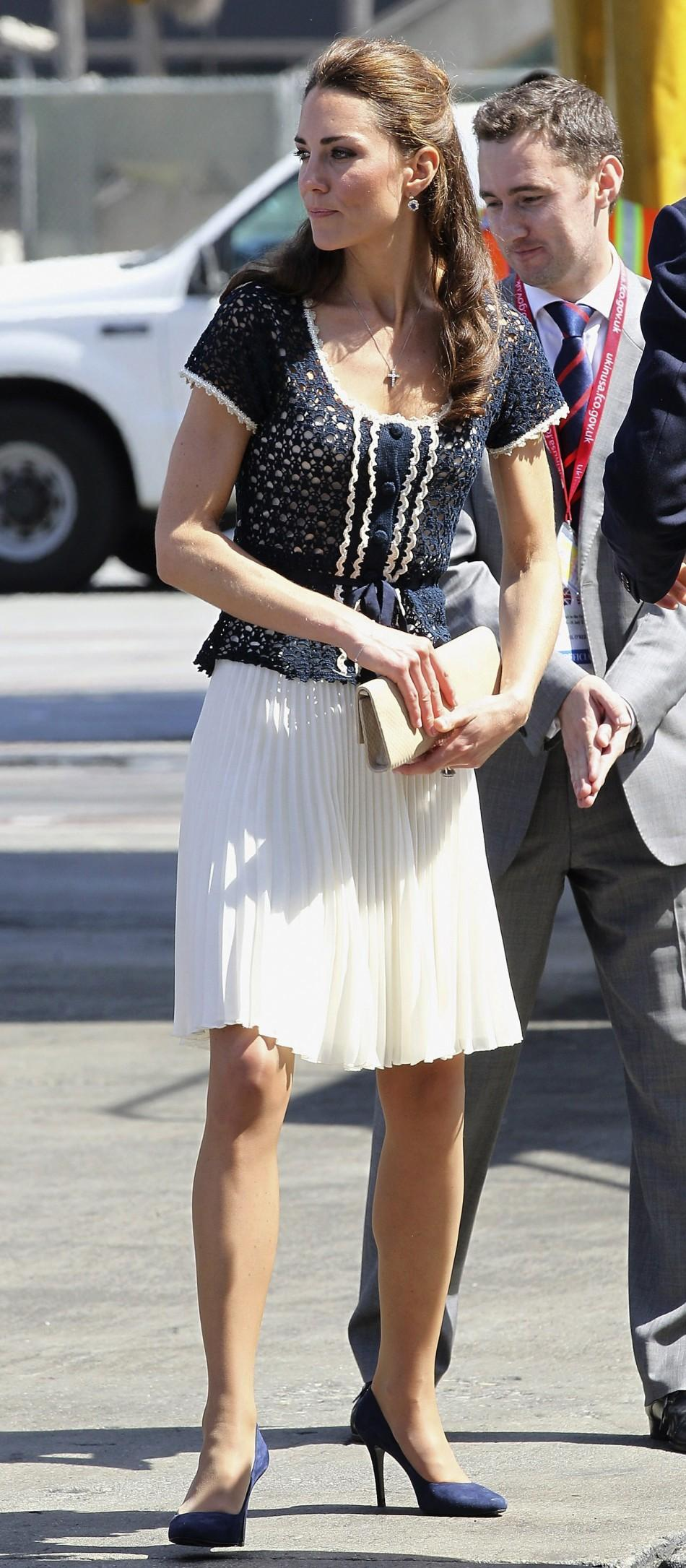 Kate and William - three day visit of California