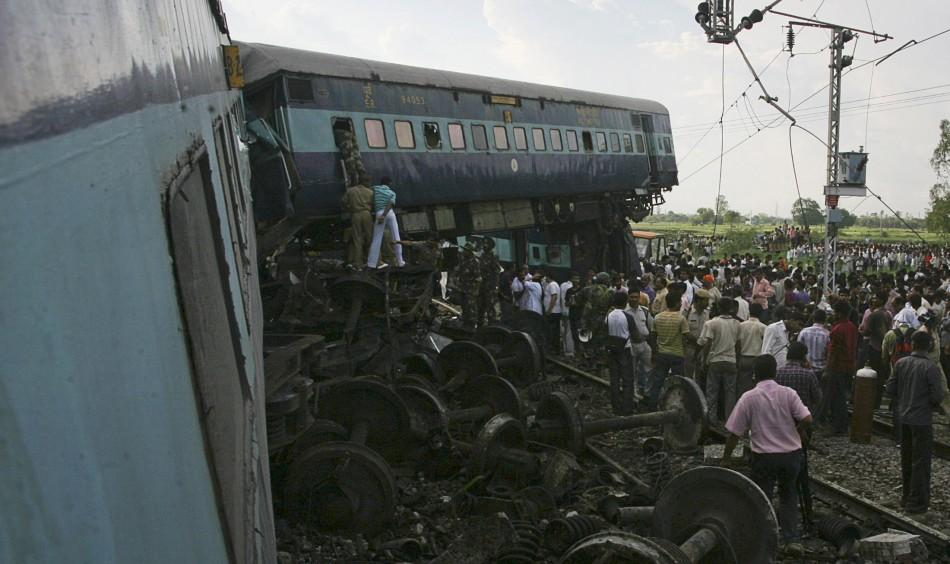 Horrifying train accident in India leaves 66 dead and over 250 injured.