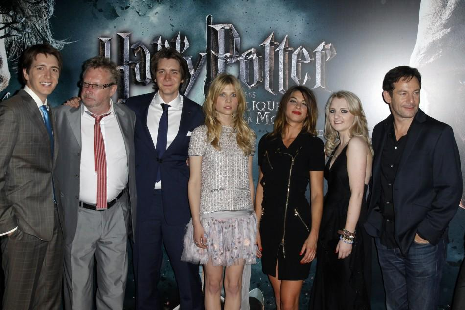 "Cast members arrive for the premiere of the film ""Harry Potter and the Deathly Hallows: Part 2"" at Bercy in Paris"