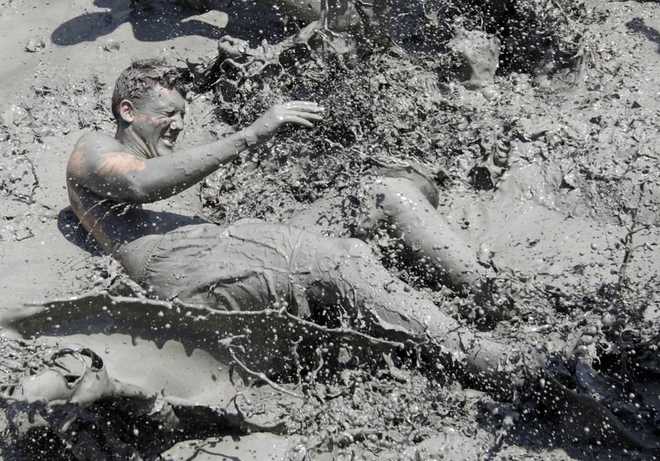 Spectacular Images of the 14th Boryeong Mud Festival in Korea.
