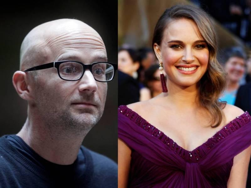 Moby charmed Natalie Portman