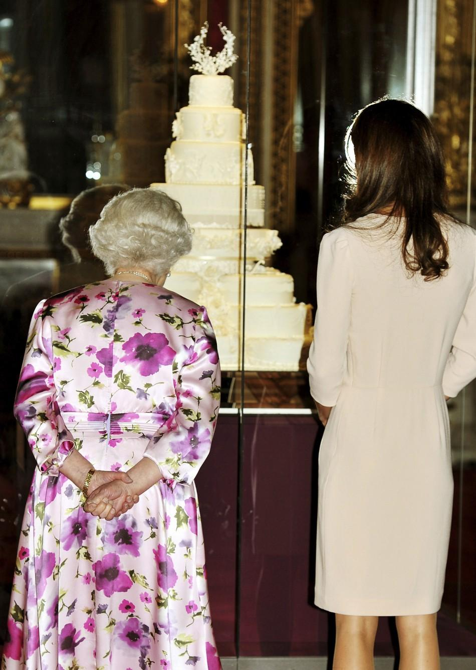 Kate With Queen Elizabeth Visit Buckingham Palace For