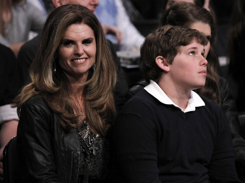 Maria Shriver in 2011