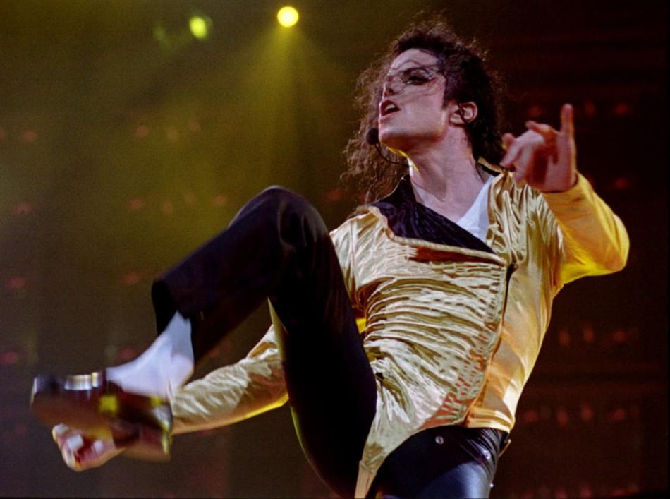 Pop star Michael Jackson