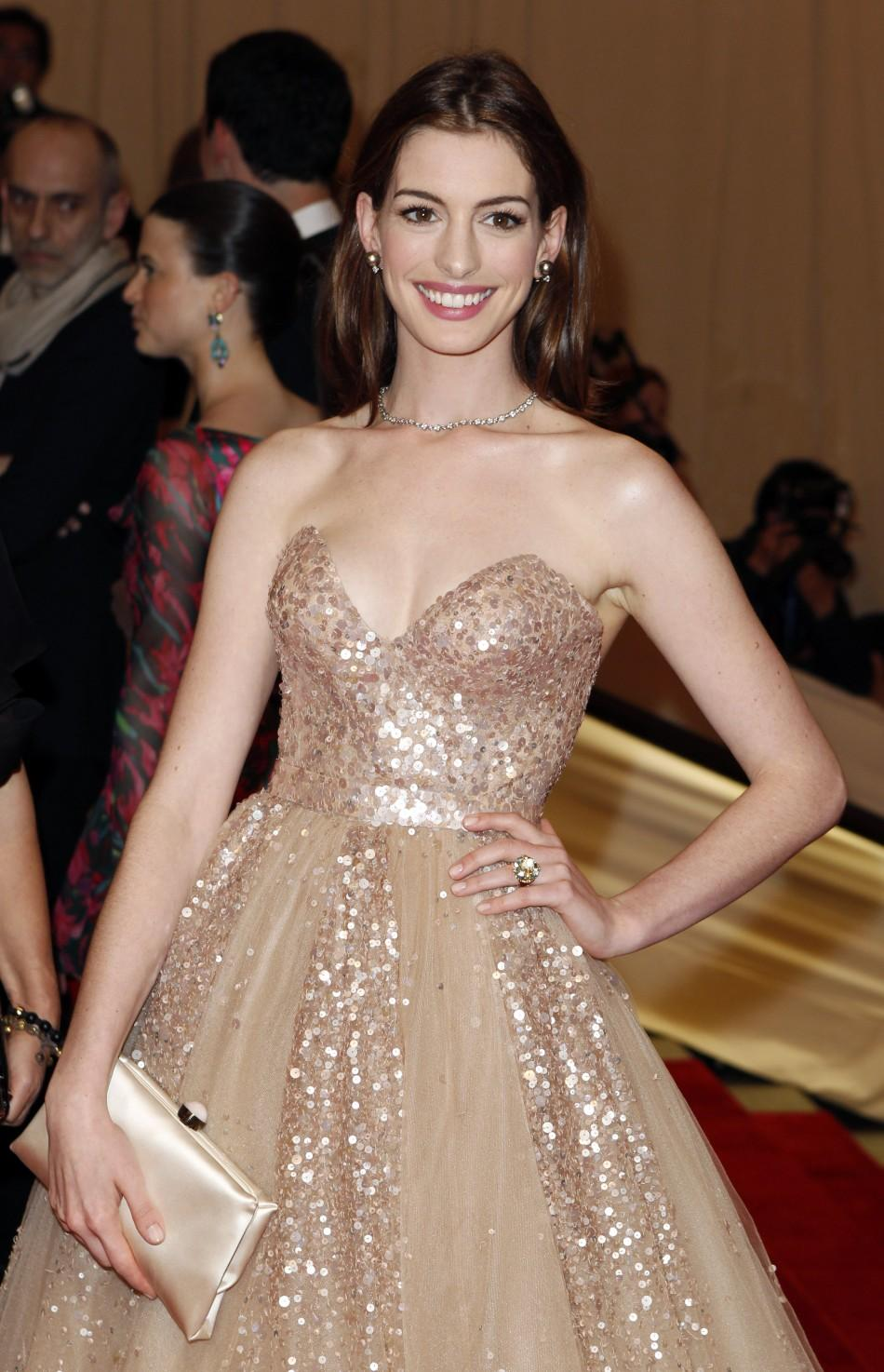 Anne Hathaway Costume Ball