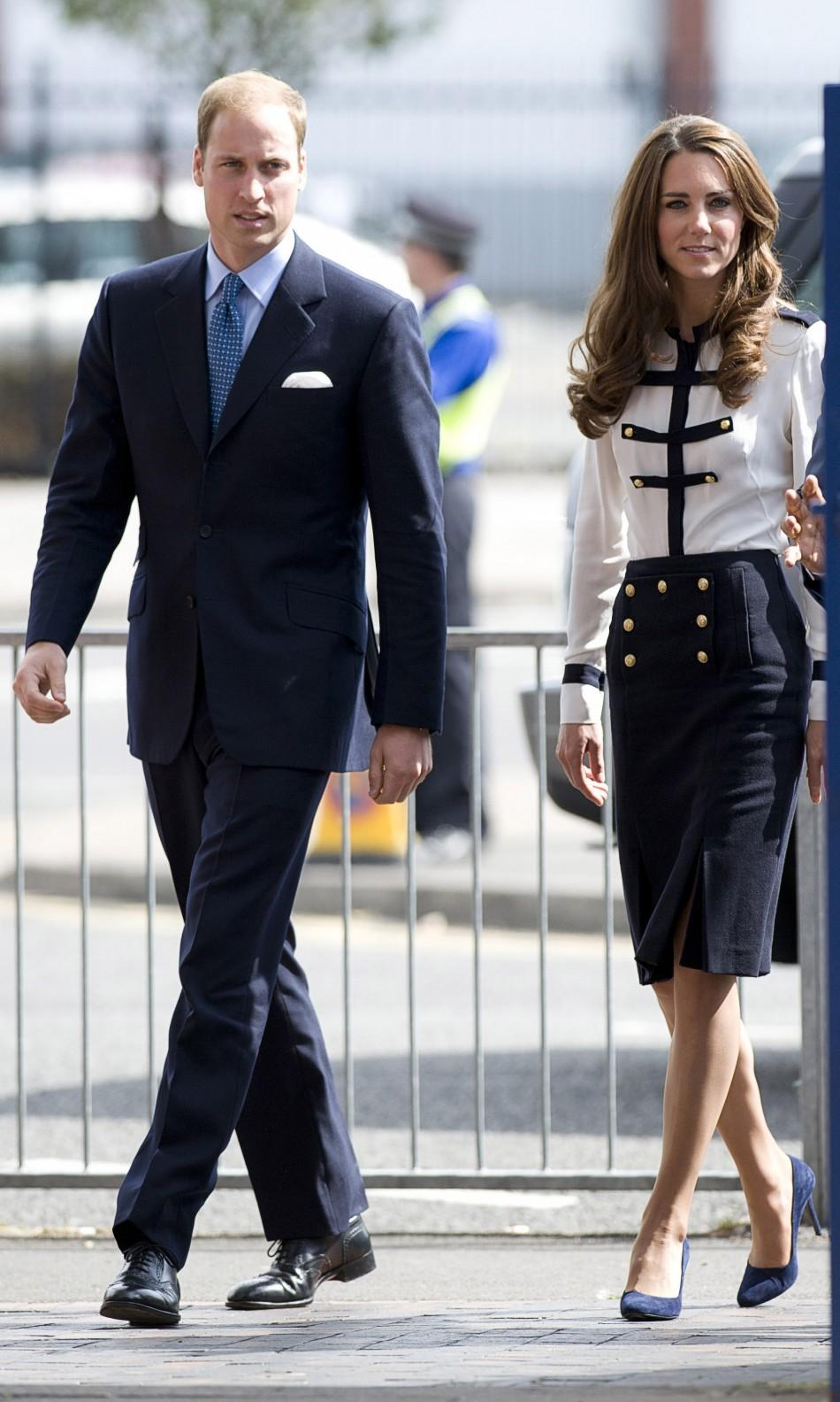 The Future King and Queen of England: Prince William and Catherine Visit Riot Affected Birmingham