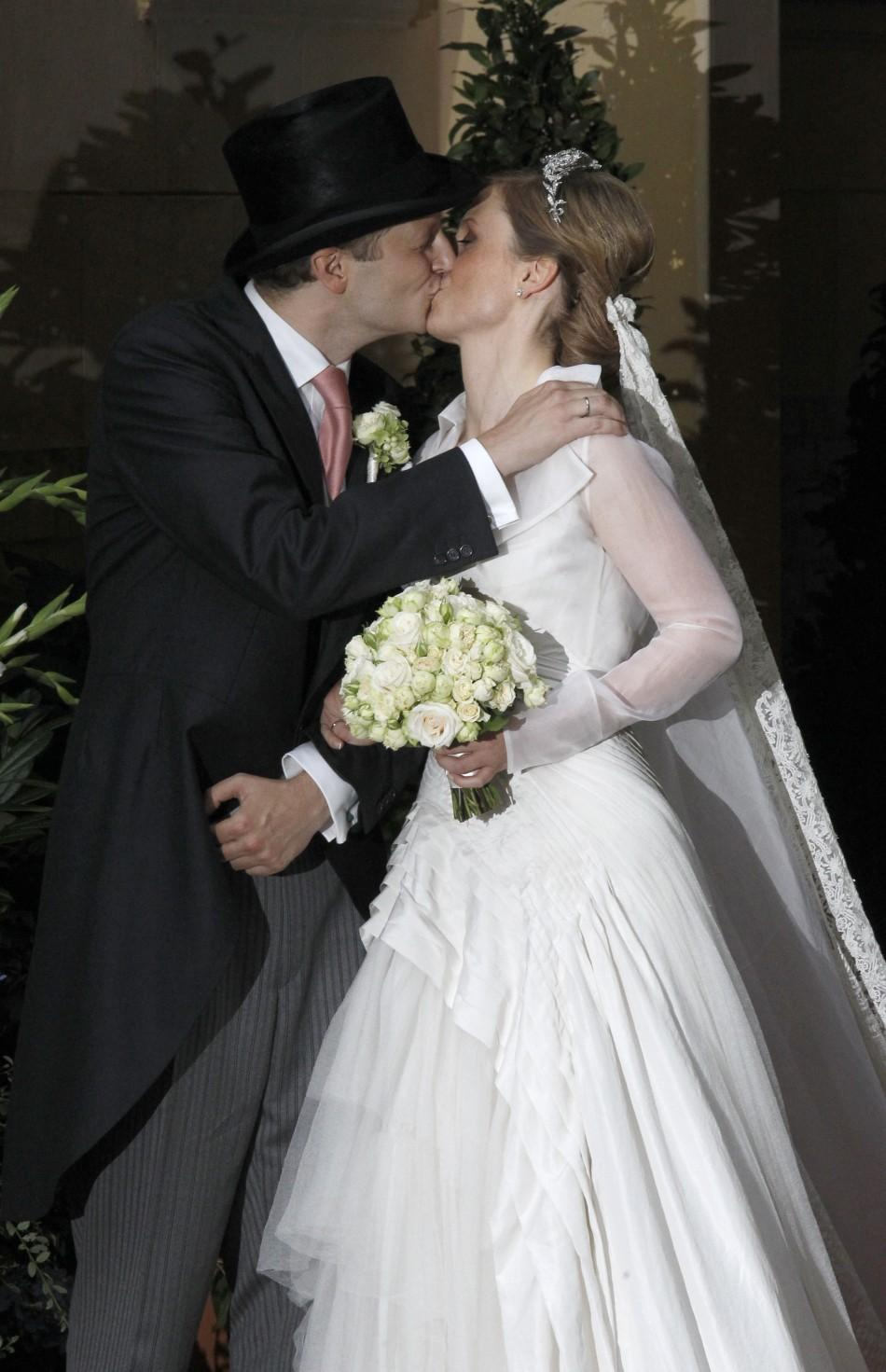 German royal wedding prince georg and princess sophie for What to do with old wedding dress after divorce