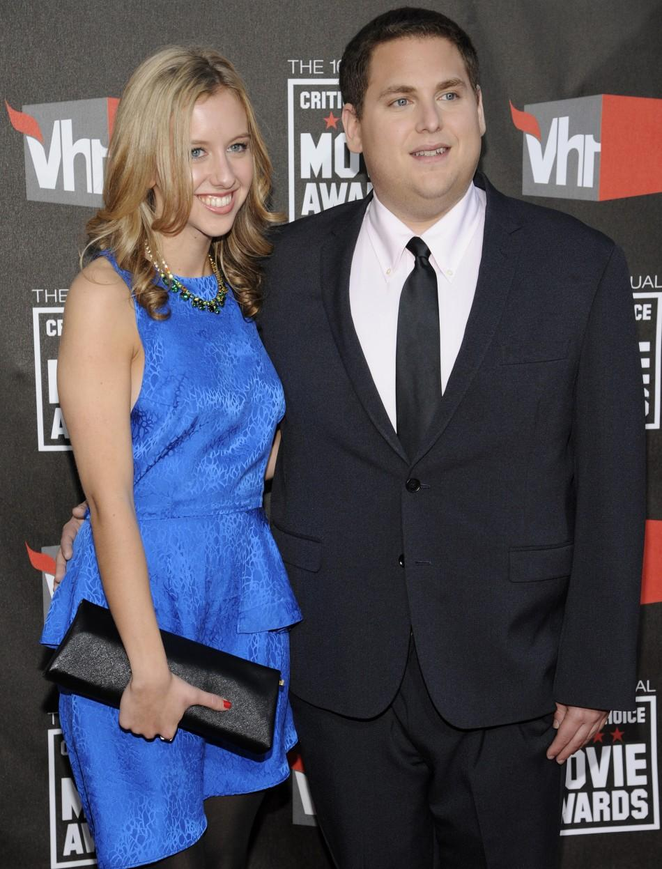 Jonah Hill with date