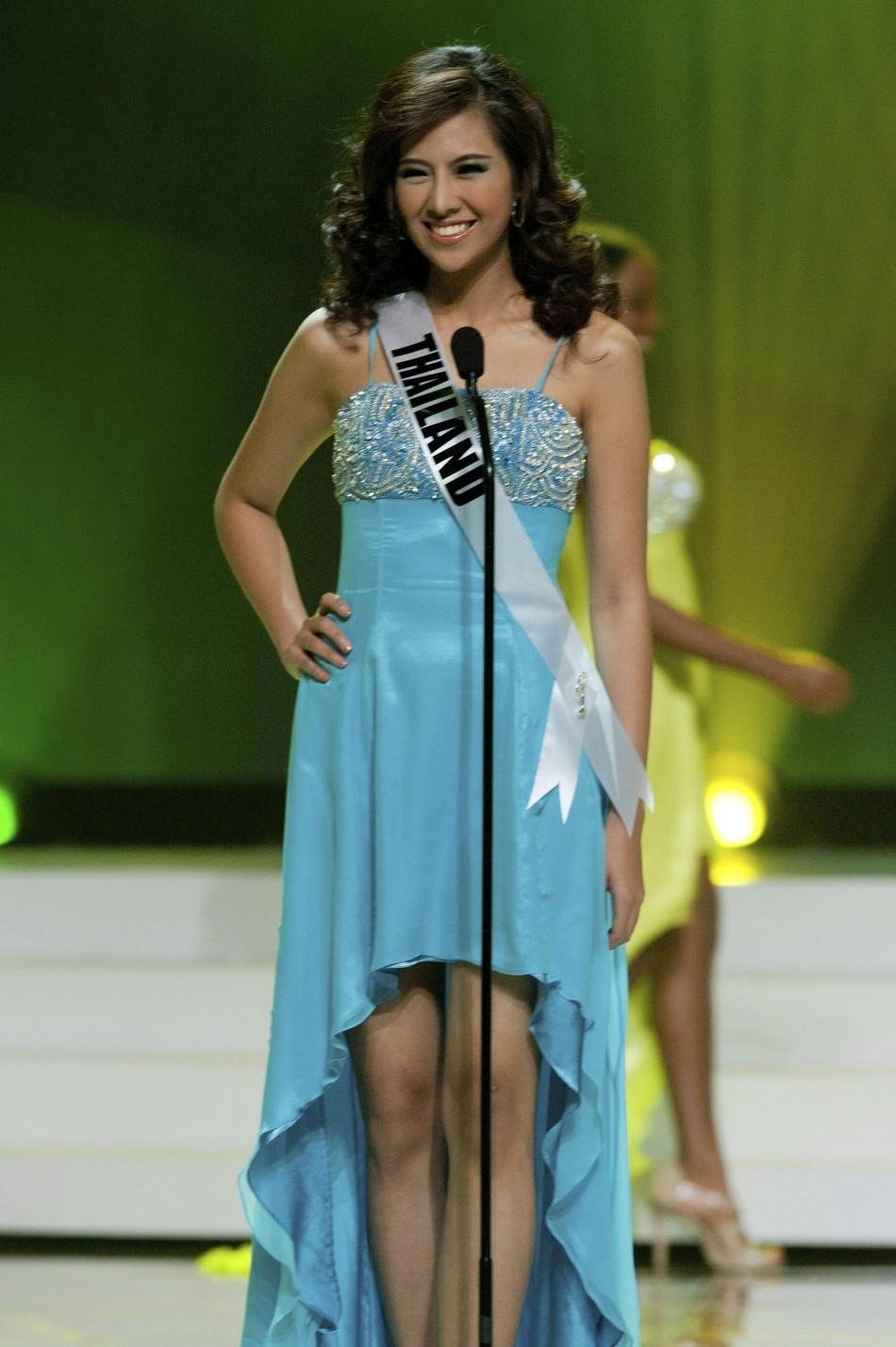 Miss Universe 2011: Miss Philippines Shamcey Supsup Leads ... Chanyasorn Sakornchan