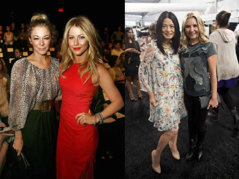 Celebs at 2011 New York Fashion Week