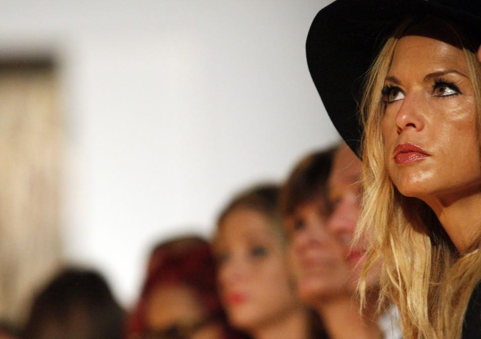 Rachel Zoe attends the Michael Kors Spring/Summer 2012 collection show during New York Fashion Week September 14, 2011.